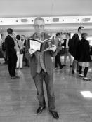 Chris Buenter, curator, photo by Linda Jensen
