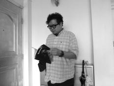 Chris Chan, artist, photo by Linda Jensen