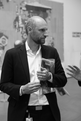 Christian Rattemeyer, curator