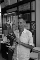 David Platzker, curator, photo by Alain Kantarjian