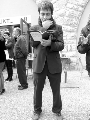 Alain Kantarjian, artist, photo by Linda Jensen