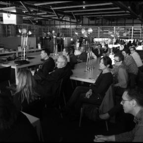 Presentation of Torrent at the Bibliothèque Kandinsky: photographicglance